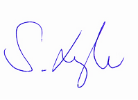 Sandra Lengler Business Coach Unterschrift